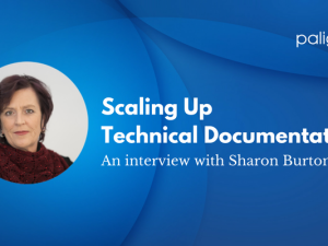 We have a talk with Sharon Burton – Tech Comm Rock Star